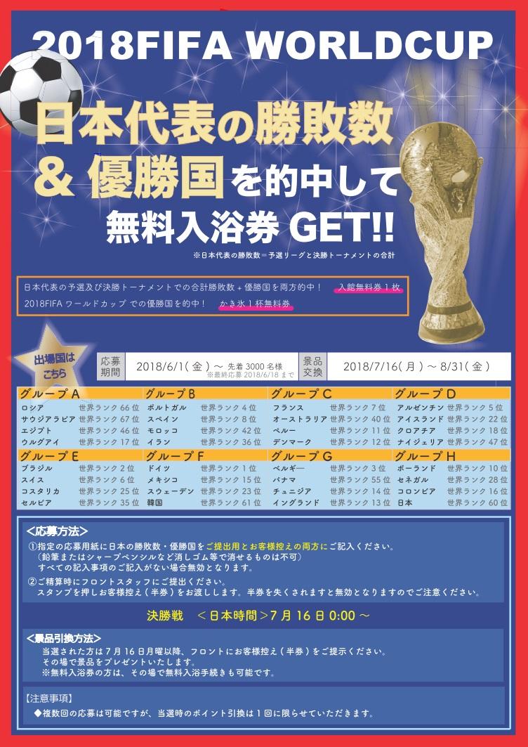 2018 FIFAワールドカップ!日本代表の勝敗数&優勝国を当てよう!!
